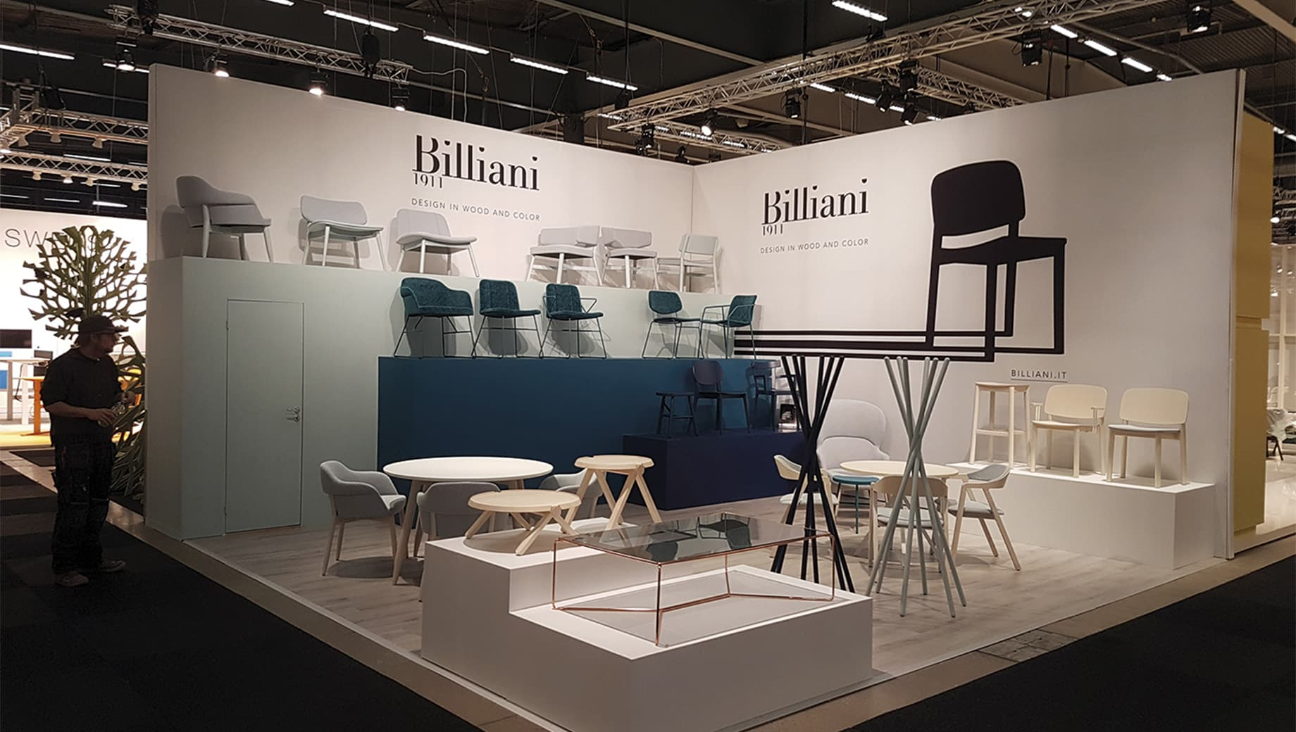 Billiani - Stockholm Furniture Fair