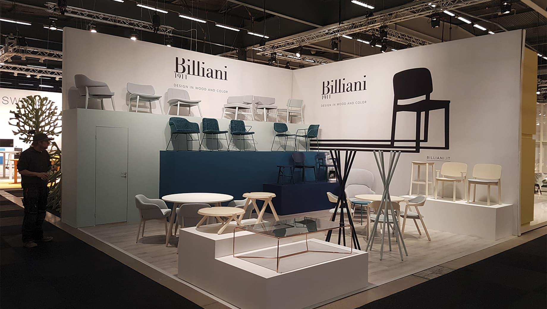 Billiani - Stockholm Furniture Fair